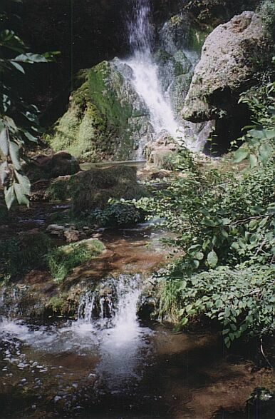Gostilje waterfalls